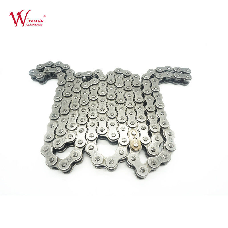 520*120 Links Motorcycle Sprocket Chain Alloy Steel Material Made